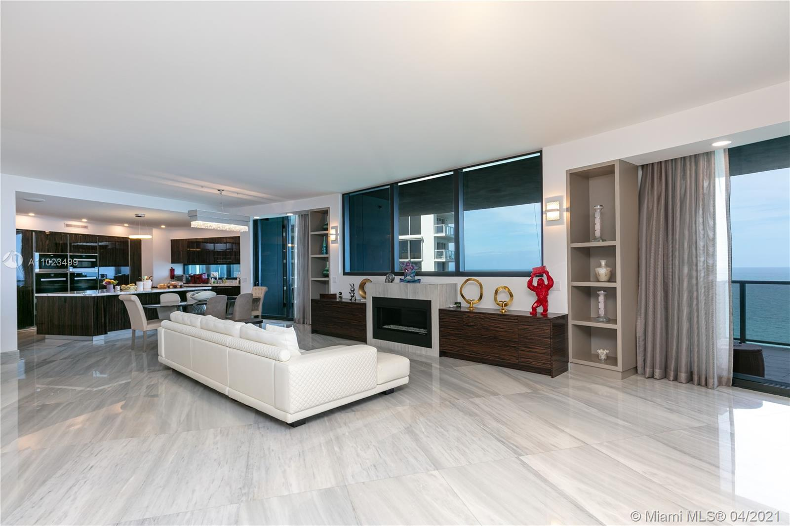 18555 Collins Ave, Unit #2105 Luxury Real Estate