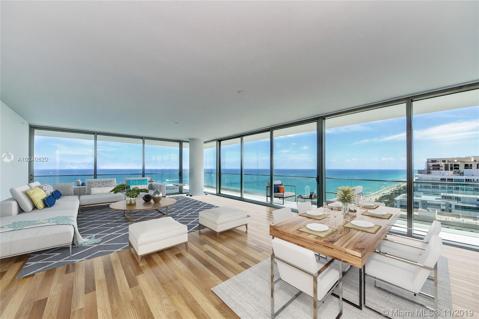 10201 Collins Ave, Unit #2401S Luxury Real Estate