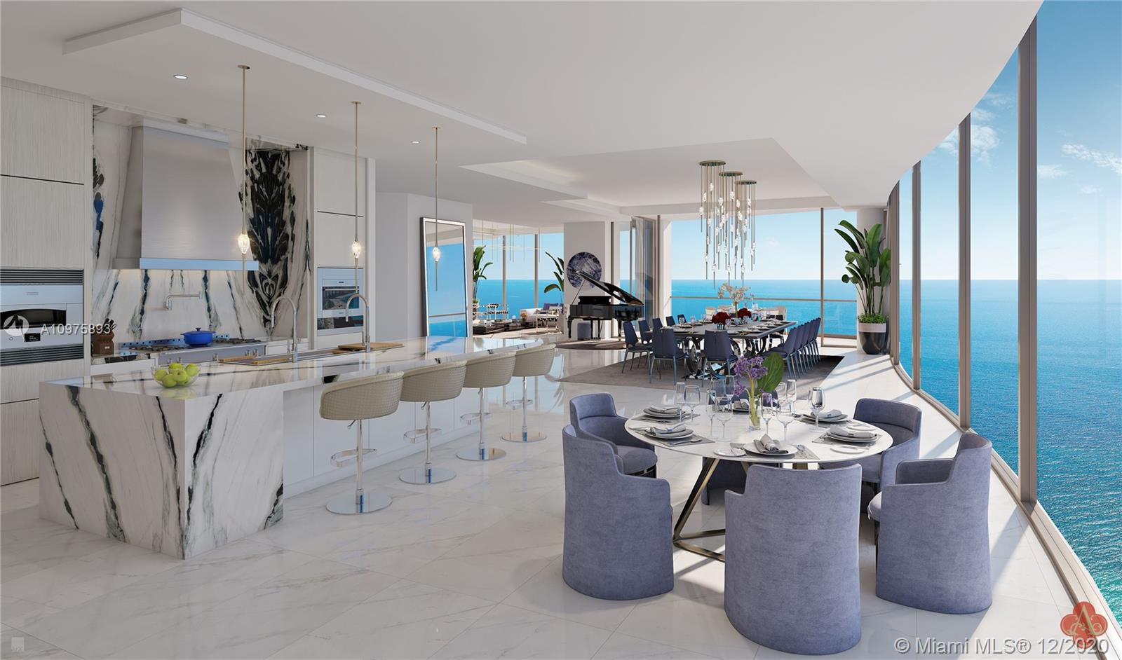 17901 Collins Ave, Unit #3601/3701 Luxury Real Estate