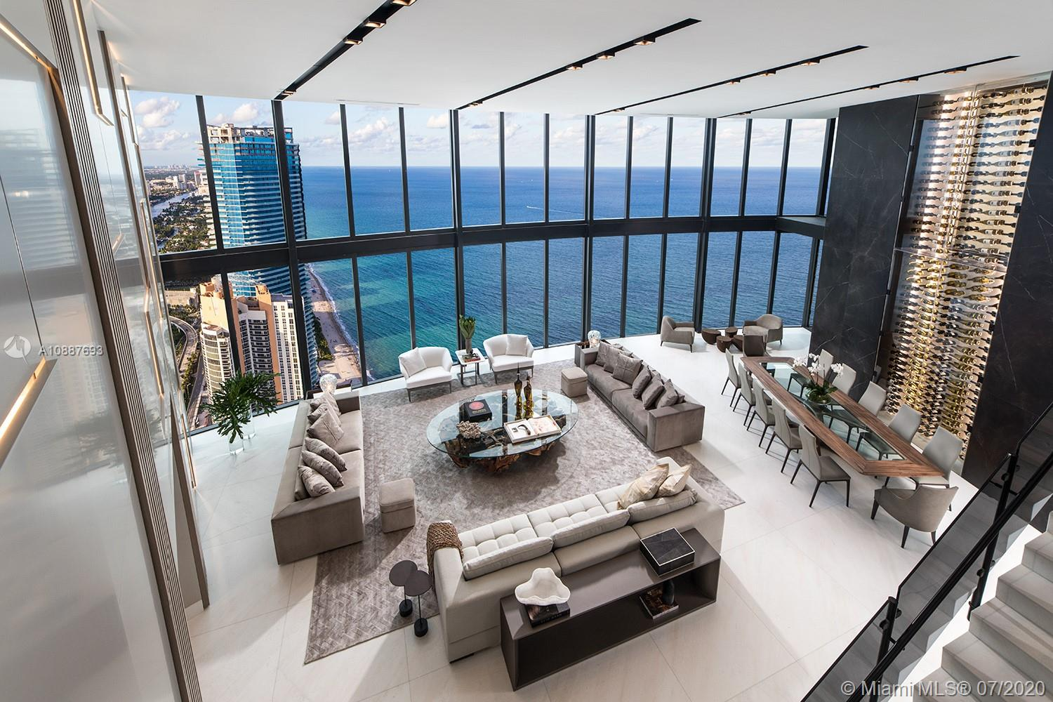 18555 Collins Ave, Unit #5205 Luxury Real Estate