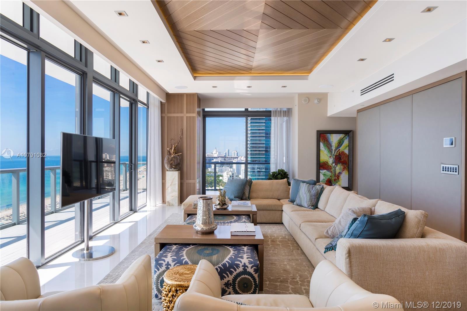 2201 Collins Ave, Unit #PH1928 Luxury Real Estate