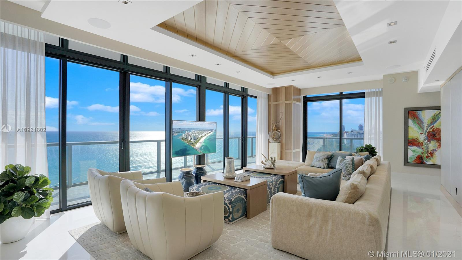 2201 Collins Ave, Unit #PH 1928 Luxury Real Estate