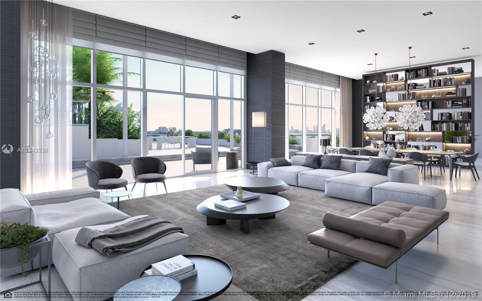 4701 Meridian Avenue, Unit #PH16 Luxury Real Estate