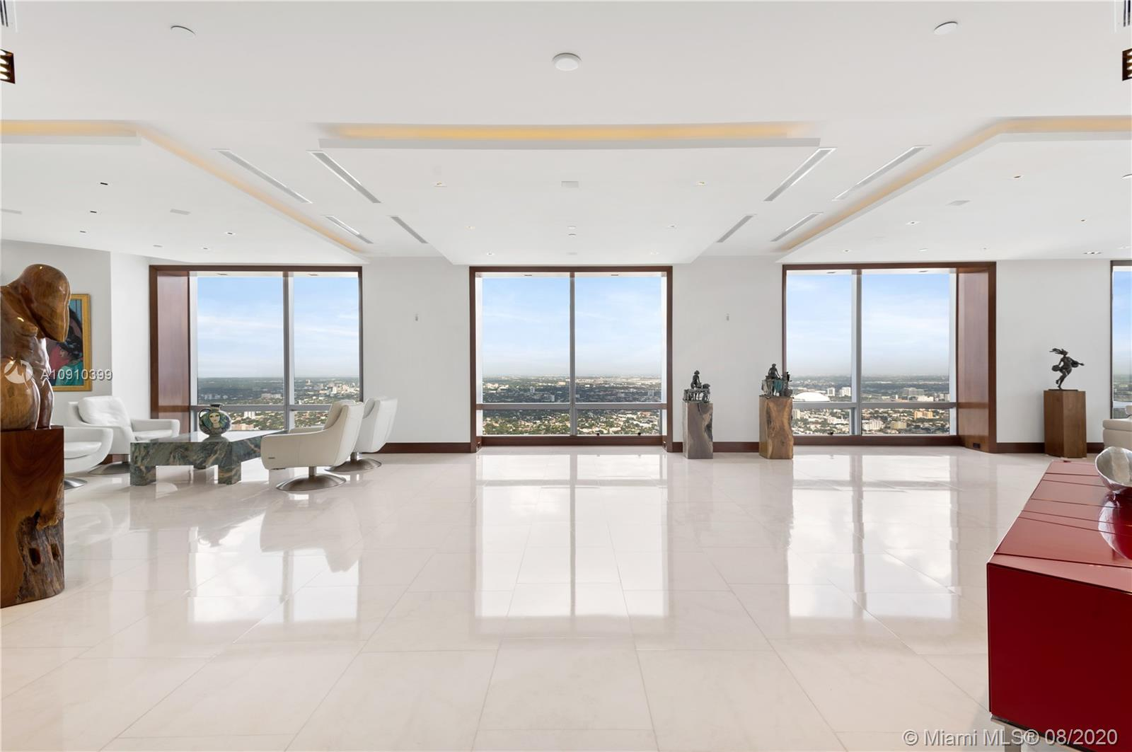 1425 Brickell Ave, Unit #PH70BCD Luxury Real Estate
