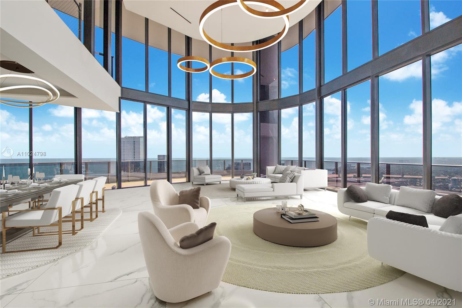 1000 Brickell Plaza, Unit #UPH6202 Luxury Real Estate