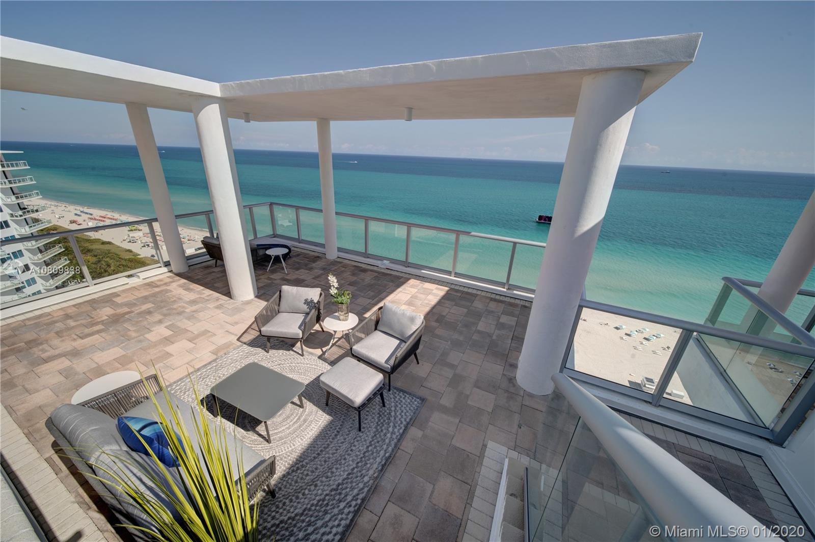 3737 Collins Ave, Unit #PH-4 Luxury Real Estate