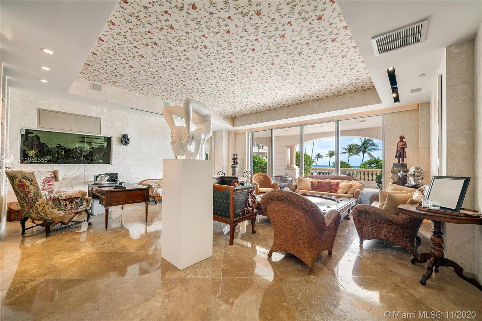 7412 Fisher Island Dr, Unit #7412 Luxury Real Estate