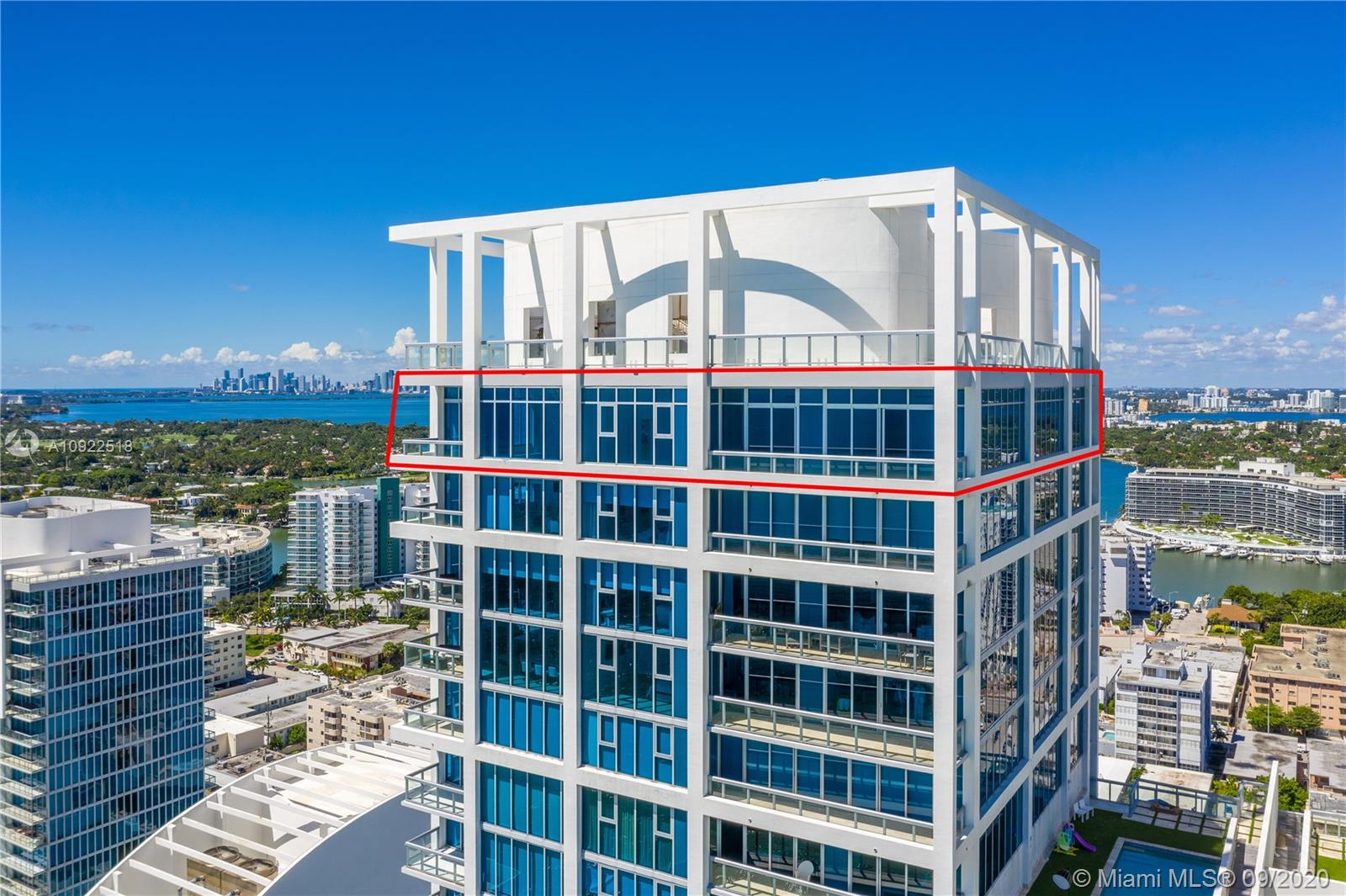 6899 Collins Ave, Unit #UPH 2907+2908 Luxury Real Estate