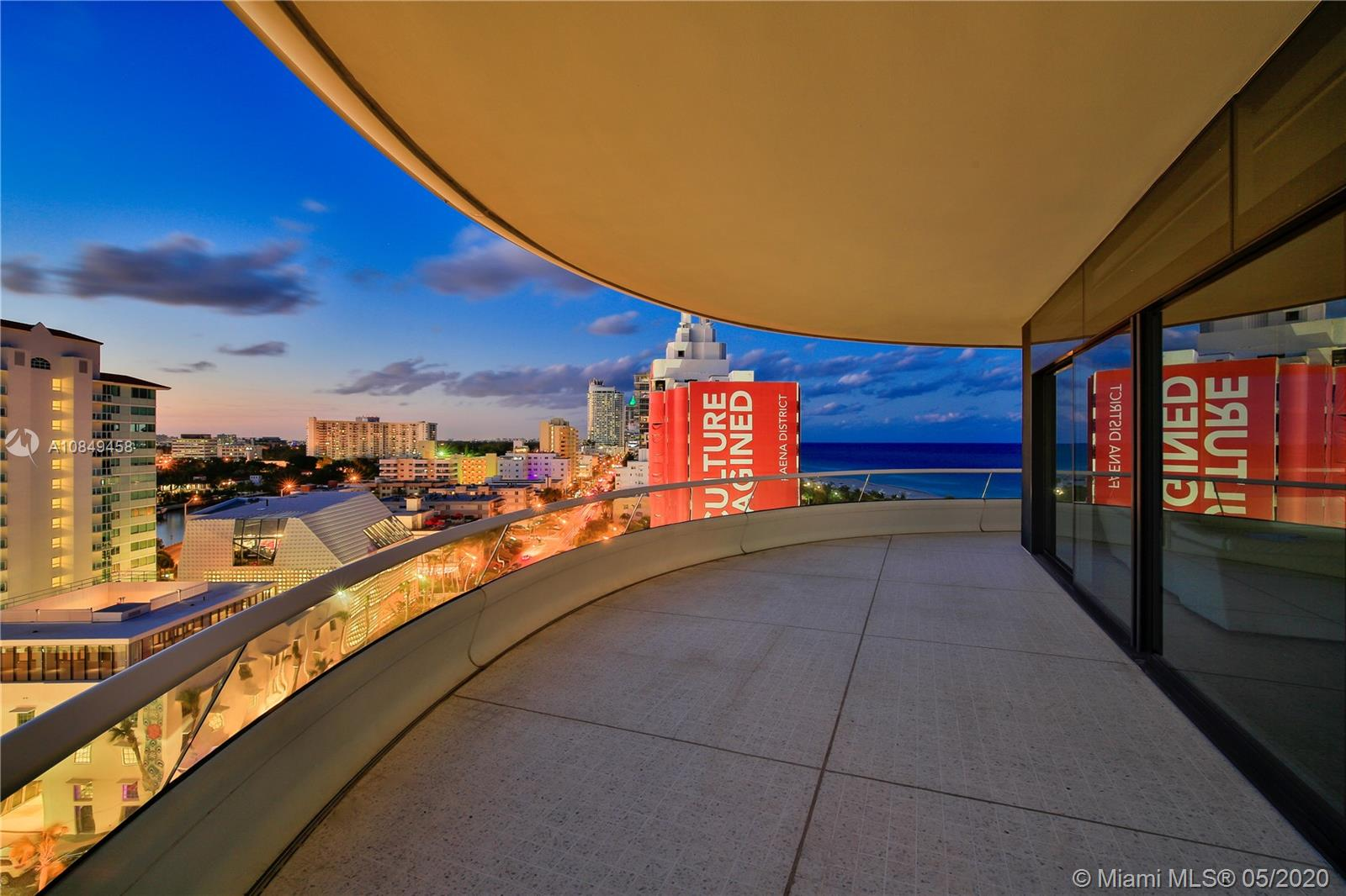 3315 Collins Ave, Unit #9C Luxury Real Estate