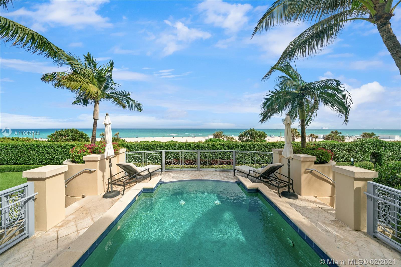 5959 Collins Ave, Unit #Villa 3005 Luxury Real Estate