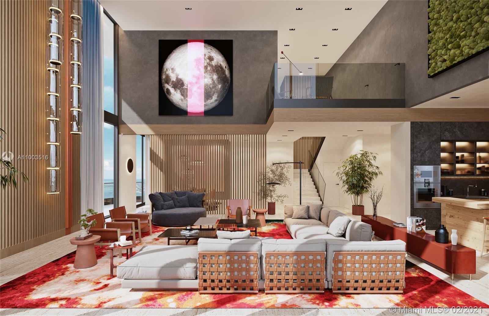 1000 Brickell Plaza, Unit #6206 Luxury Real Estate