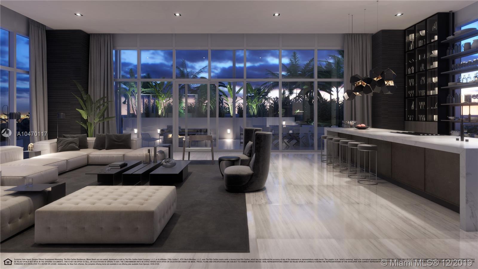 4701 Meridian Avenue, Unit #PH01 Luxury Real Estate