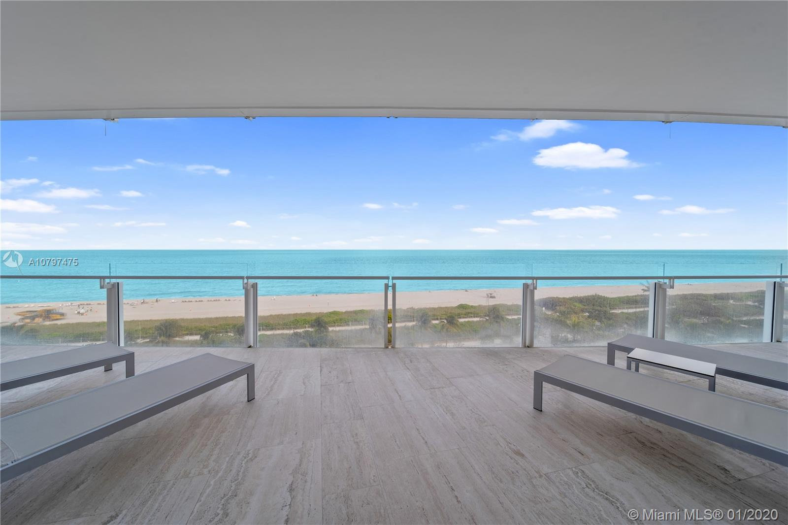 9001 Collins Ave, Unit #S-605 Luxury Real Estate