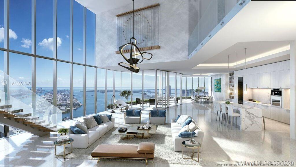 851 NE 1st Ave, Unit #PH 5411 Luxury Real Estate