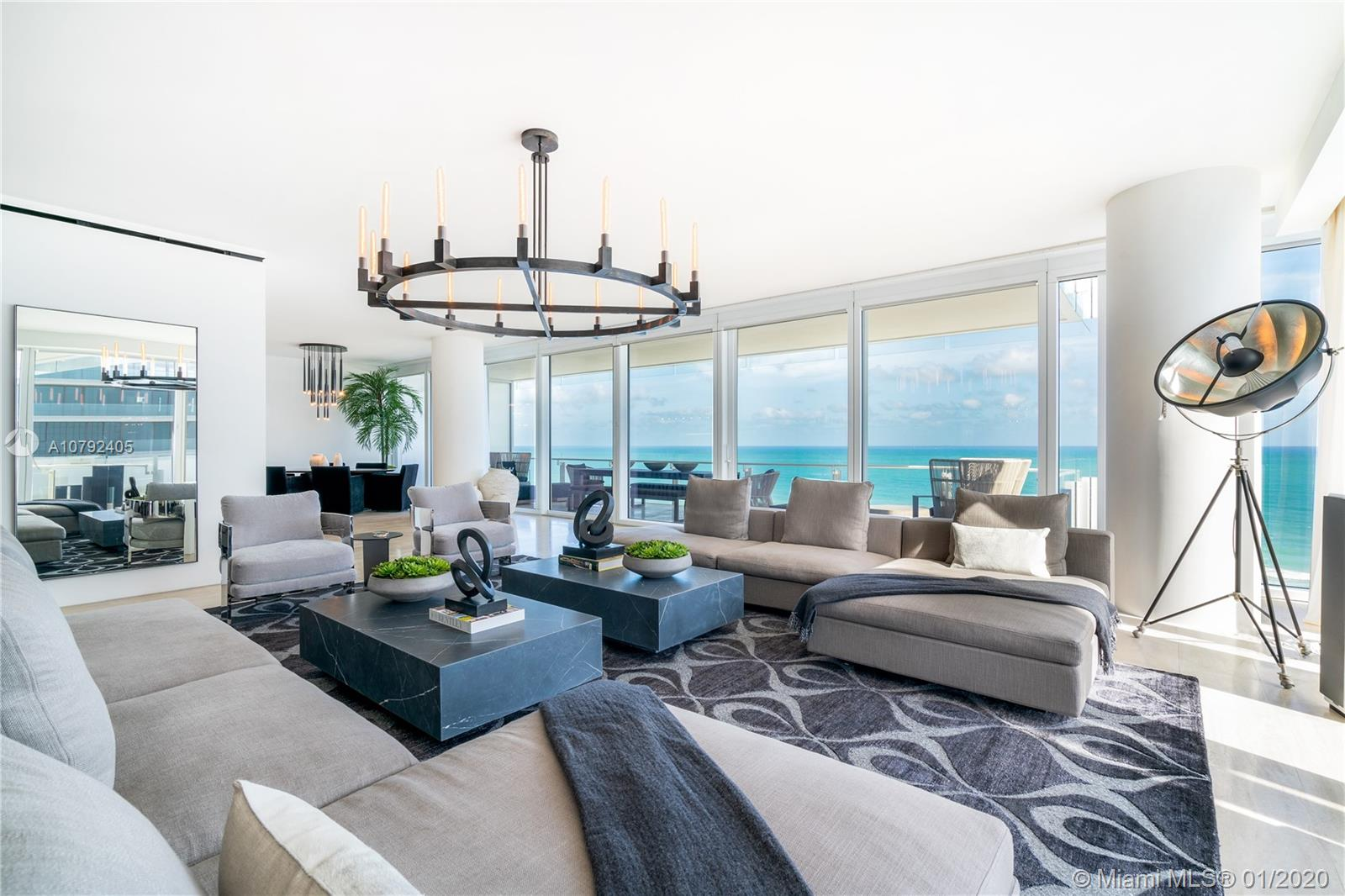 9001 Collins Ave, Unit #S-801 Luxury Real Estate
