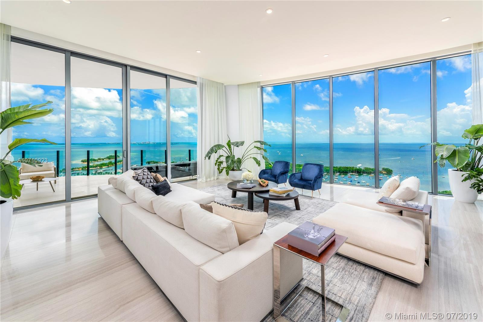 2811 S Bayshore Drive, Unit #UPH-B Luxury Real Estate