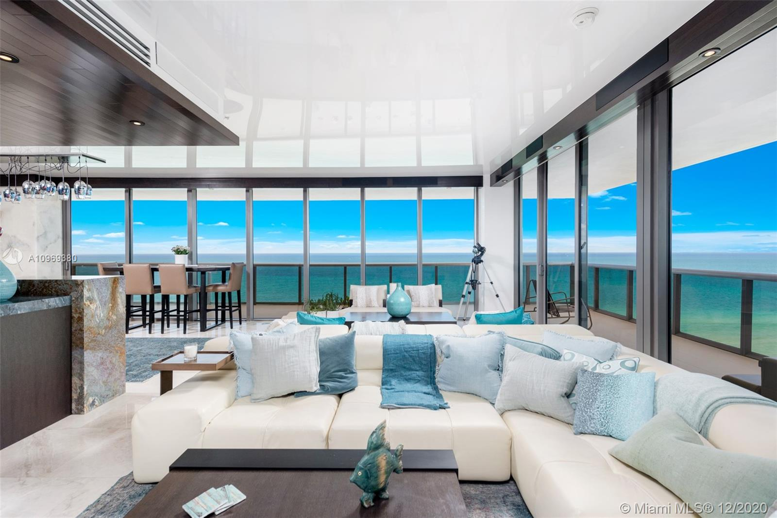 5875 Collins Ave, Unit #1801/1802 Luxury Real Estate