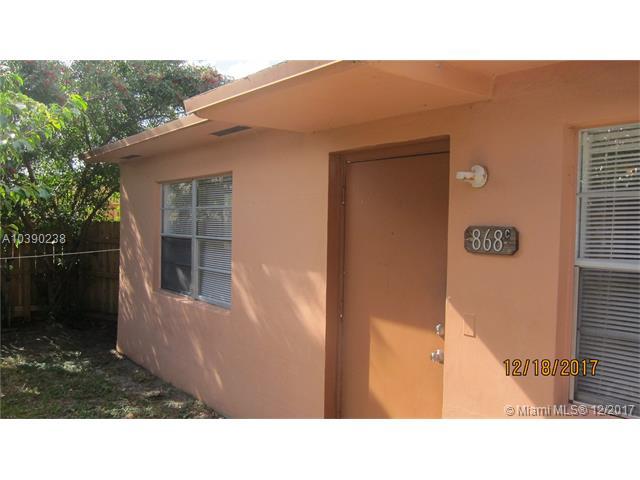 860 SW 6th Ct, Unit #C, Pompano Beach FL