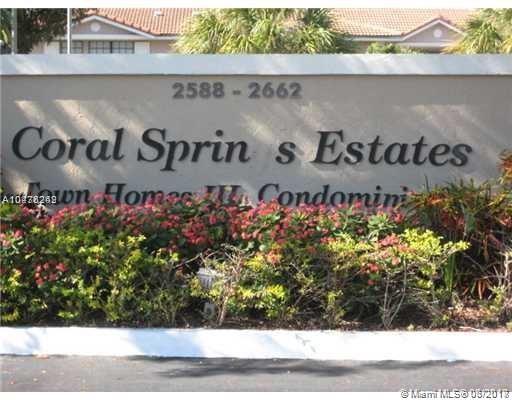 2594 Riverside Dr, Unit #1, Coral Springs FL