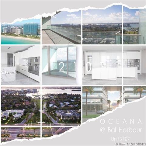 10201 Collins Ave, Unit #2107W, Bal Harbour FL