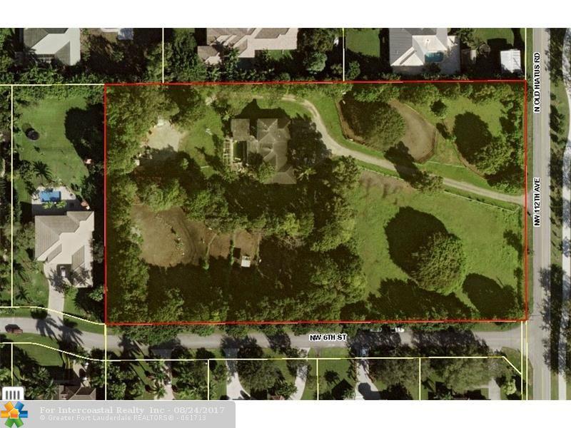 651 N Old Hiatus Rd, Plantation FL