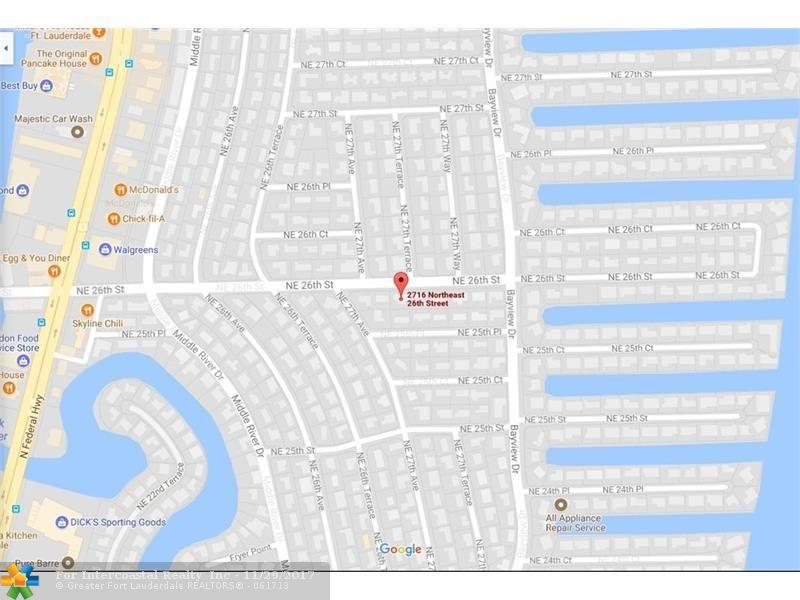 2716 NE 26th St, Fort Lauderdale FL