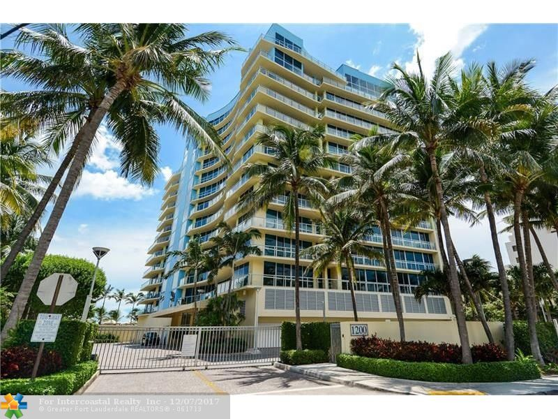 1200 Holiday Dr, Unit #1103, Fort Lauderdale FL