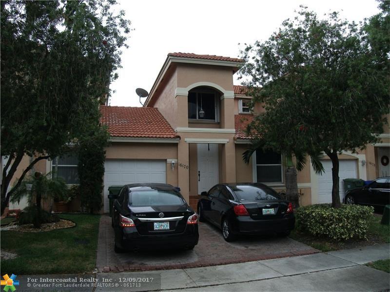16170 NW 24th St, Unit #., Pembroke Pines FL