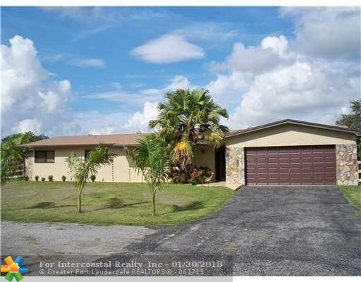 5201 Thoroughbred Lane, Southwest Ranches FL