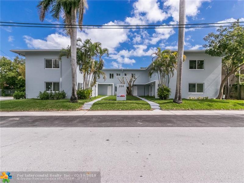 206 NE 16th Ave, Unit #1-8, Fort Lauderdale FL