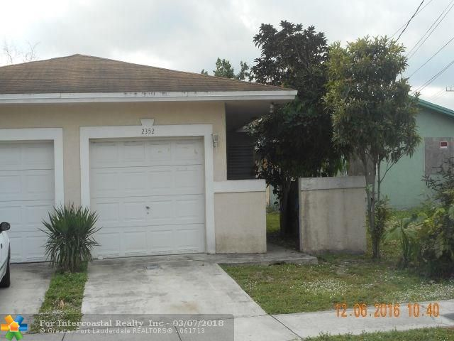 2352 NW 20th St, Fort Lauderdale FL