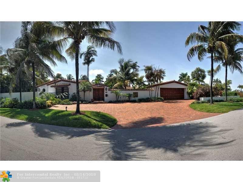 1511 E Lake Dr, Fort Lauderdale FL