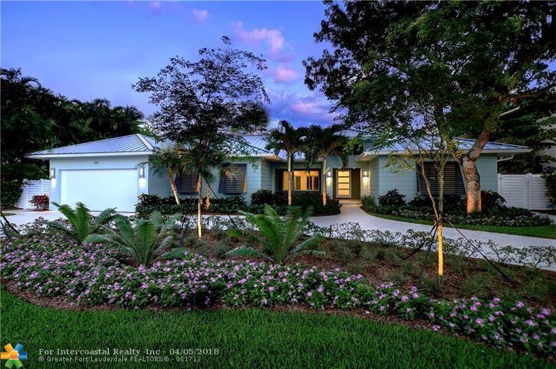 1206 E Lake Dr, Fort Lauderdale FL