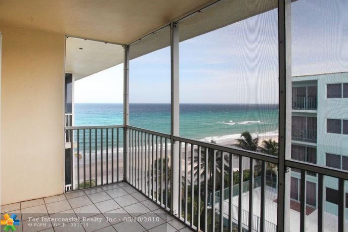 1161 Hillsboro Mile, Unit #607, Hillsboro Beach FL
