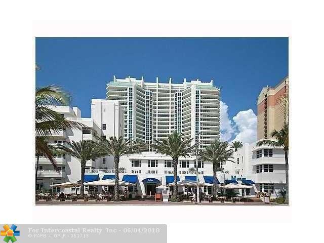 101 S Fort Lauderdale Beach Blvd, Unit #1506, Fort Lauderdale FL