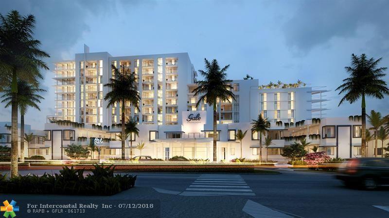 401 Birch Road, Unit #408, Fort Lauderdale FL