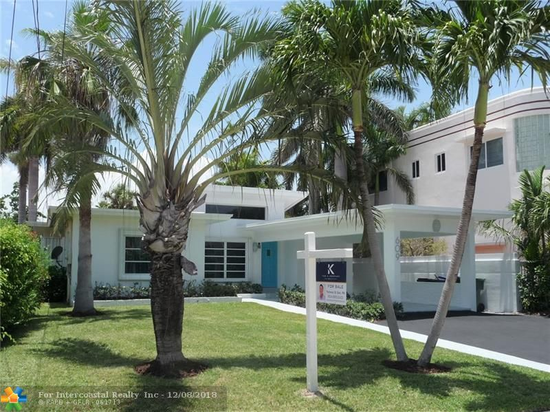 609 Poinciana Drive, Fort Lauderdale FL