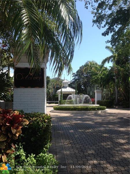 1696 S Ocean Lane, Unit #168, Fort Lauderdale FL