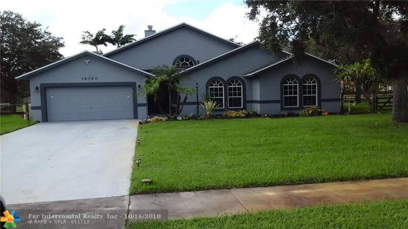 16360 Stirling Rd, Southwest Ranches FL