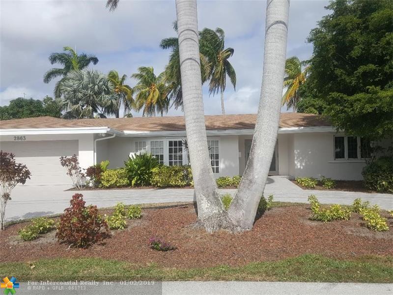 2863 NE 26th Court, Fort Lauderdale FL
