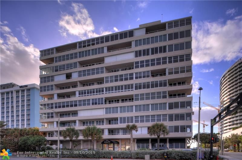 345 N Fort Lauderdale Beach Blvd, Unit #801 Luxury Real Estate