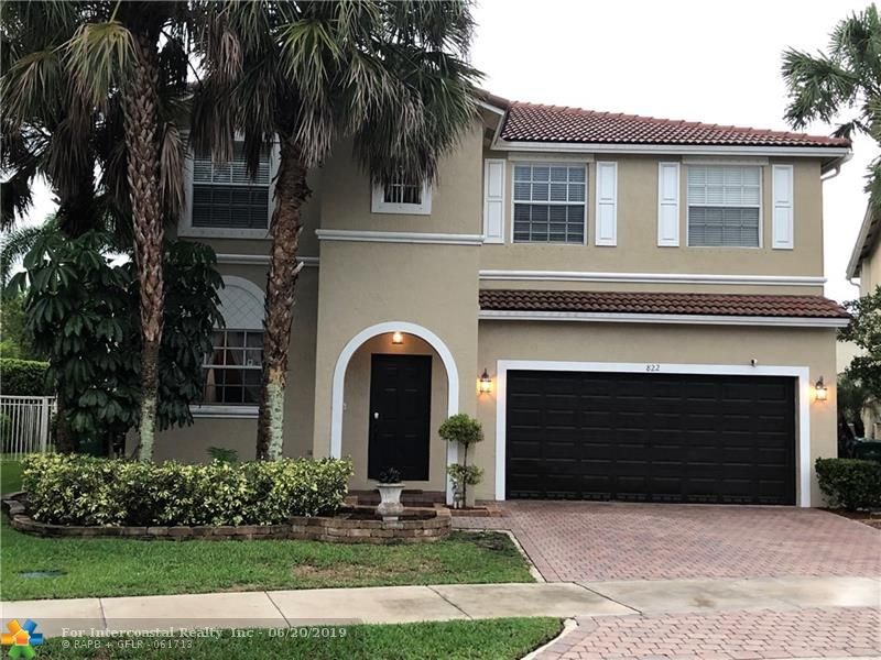 822 NW 126th Dr, Coral Springs FL