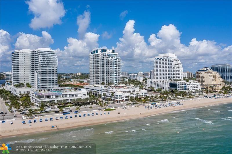 505 N Fort Lauderdale Beach Blvd, Unit #2203 Luxury Real Estate