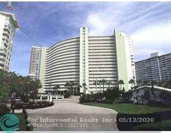 2000 S Ocean Dr, Unit #1109, Fort Lauderdale FL