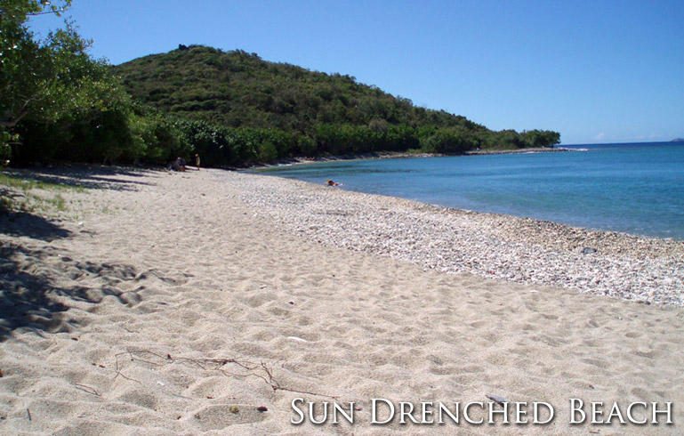 Sun Dreached Beach