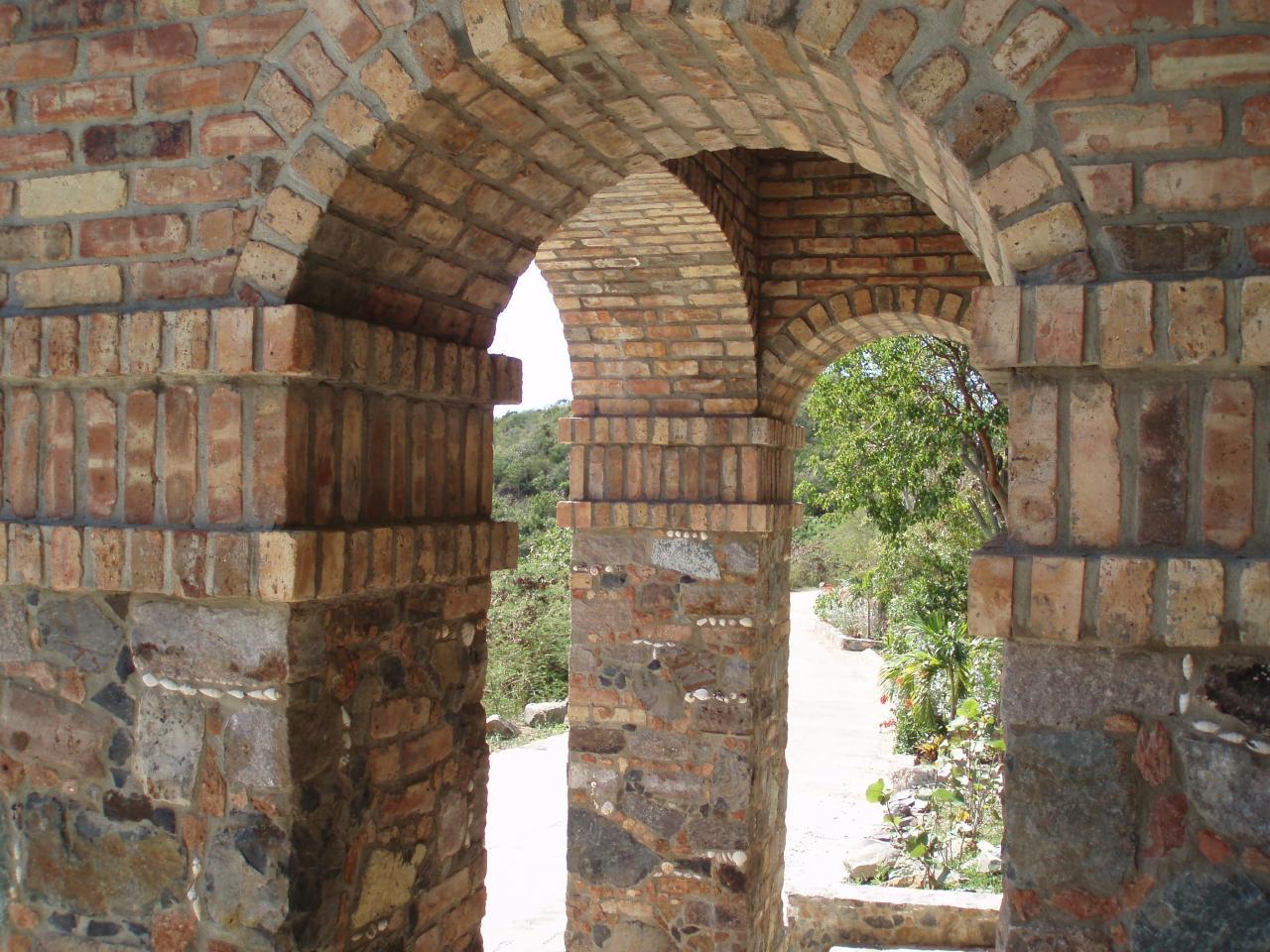 Beautiful Stone & Brick Gate House