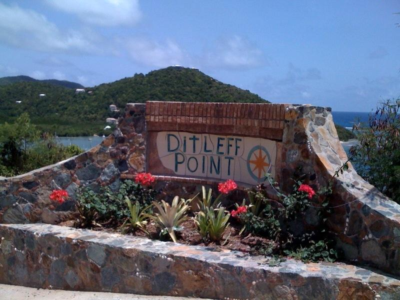 Ditleff Point Entry Sign