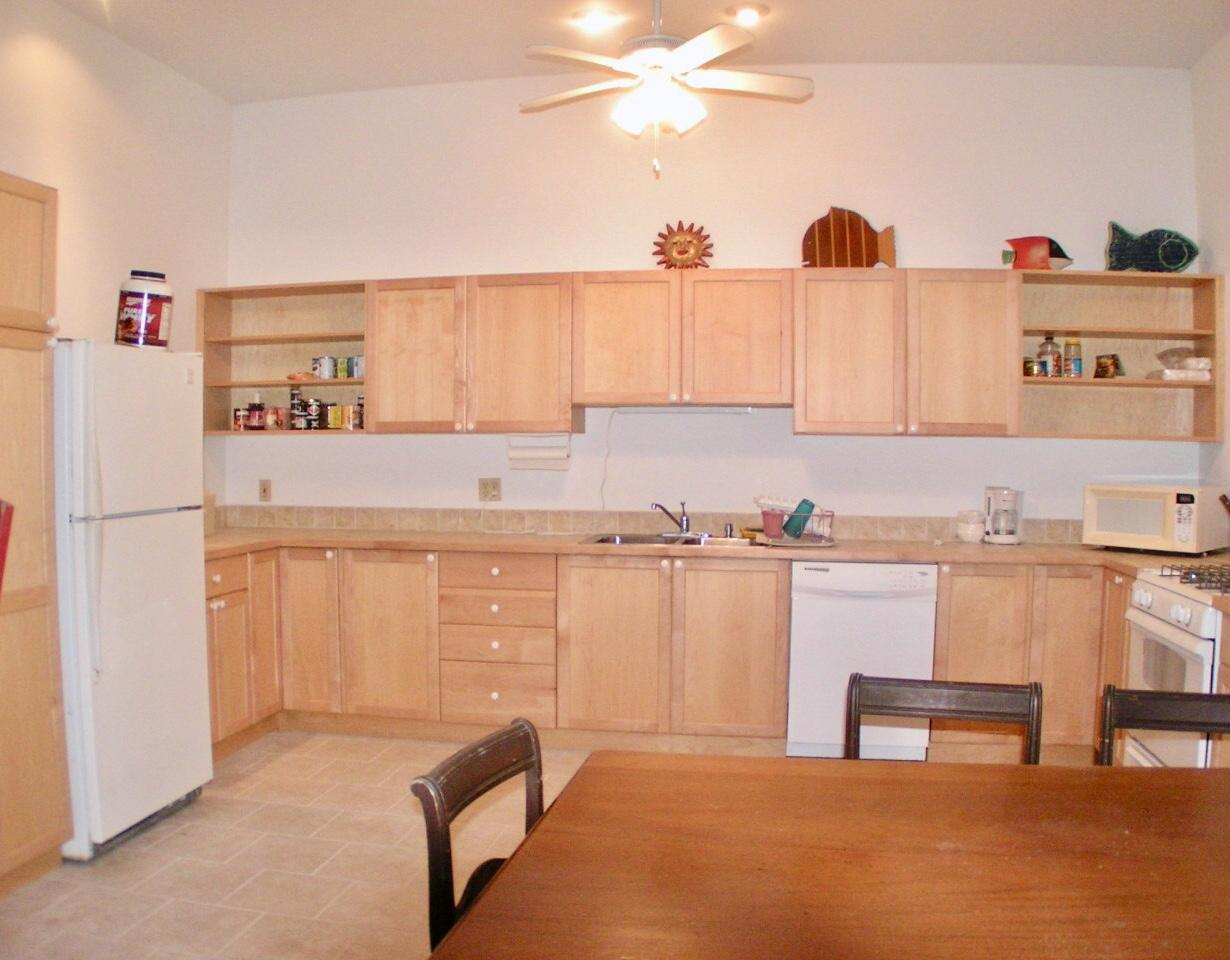 Lower level apartment #1: kitchen