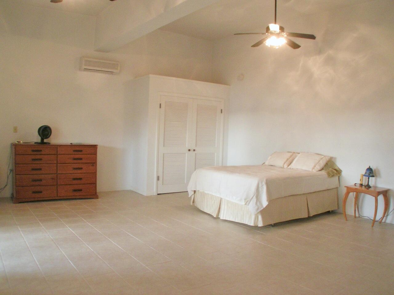 Lower level apartment #1: bedroom suite