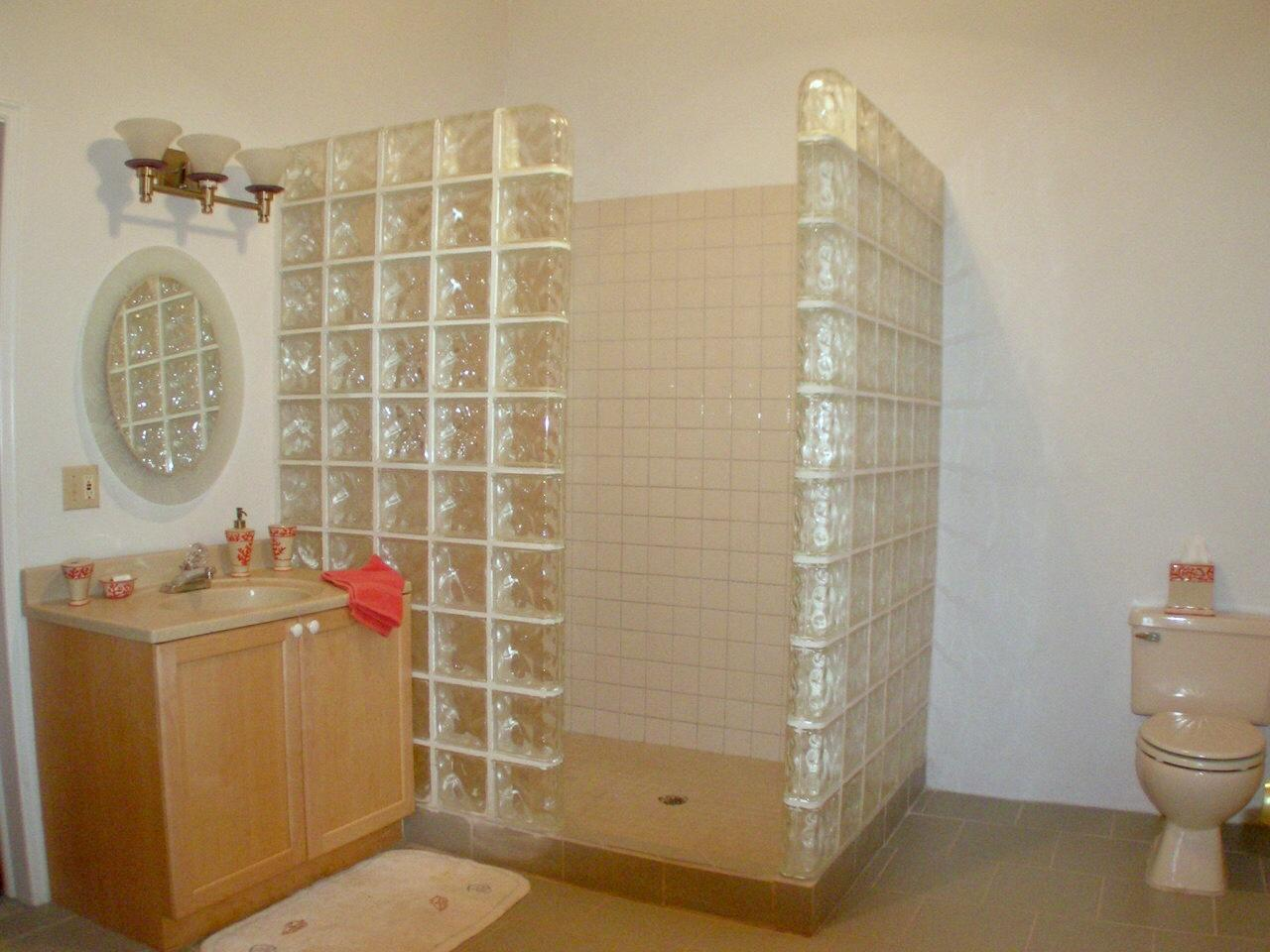 Lower level apartment #1: bathroom